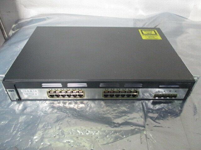 Cisco Catalyst WS-C3750G-24TS-S 24-Port Gigabit Switch, 3750 Series, 451543
