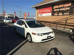 2007 Honda Civic Sdn EX***SUNROOF***MANUAL***GREAT CONDITION