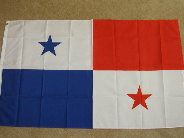 3X5 PANAMA FLAG CANAL PANAMANIAN FLAGS BANNER NEW F157