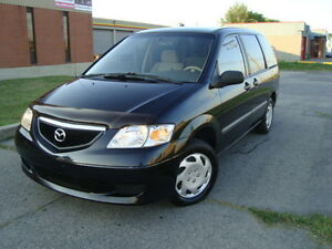 2003 MAZDA MPV DX AUTO 7 PASSENGER 135000 KMS''TAX INCLUDED''