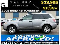 2009 Subaru Forester 2.5X AWD $139 bi-weekly APPLY NOW DRIVE NOW