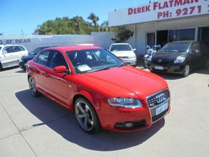 2006 Audi A4 B7 TDI Tiptronic Quattro Red 6 Speed Sports Automatic Sedan Bayswater Bayswater Area Preview