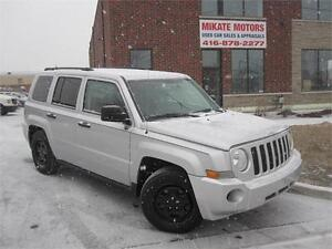 Sharp 2008 Jeep Patriot SPORT, Sold Fully Certified & E-Tested