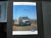 Ford Transit 350 L4 DROP SIDE 125PS EURO 5 DIESEL MANUAL WHITE (2016)