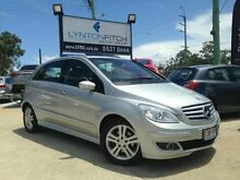 2007 Mercedes-Benz B200 W245 Turbo Silver 7 SPEED Hatchback Southport Gold Coast City Preview