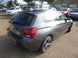 BMW 1 SERIES - WG62LSU - DIRECT FROM INS CO