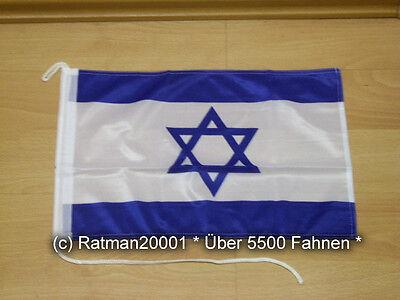 Fahnen Flagge Israel Bootsfahne Tischwimpel - 30 x 40 cm