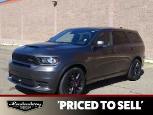 2018 Dodge Durango AWD 6.4L SRT8                  8.4 TOUCHSCREE