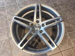 """Kit roues de mag avec pneus neufs 18"""" #M30"""