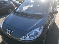 2007 AUTOMATIC PEUGEOT 1007.40000 MILES VERY GOOD CONDITION ONE YEAR MOT ELECTRIC DOORS
