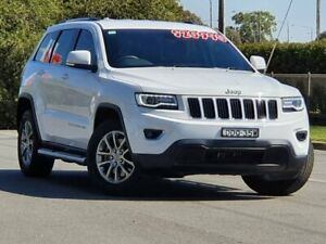 2015 Jeep Grand Cherokee WK MY15 Laredo 4x2 White 8 Speed Sports Automatic Wagon Wodonga Wodonga Area Preview