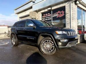 2018 Jeep Grand Cherokee Limited 4X4 CUIR TOIT MAGS 18'' CAMERAS