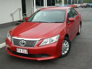 2013 Toyota Aurion GSV50R AT-X Red 6 Speed Sports Automatic Sedan North Lakes Pine Rivers Area Preview