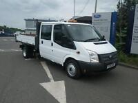 Ford Transit 2.2TDCi ( 125PS ) ( EU5 ) ( RWD ) Double Cab C 350 LWB TIPPER