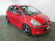 2005 Honda Jazz Upgrade VTi Red 5 Speed Manual Hatchback Invermay Launceston Area Preview