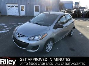 2012 Mazda Mazda2 GX STARTING AT $85.19 BI-WEEKLY