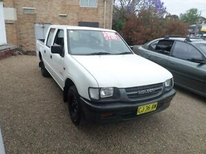 1998 Holden Rodeo TFR9 DX White 5 Speed Manual Crewcab Sylvania Sutherland Area Preview
