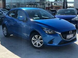 2016 Mazda 2 DJ2HAA Neo SKYACTIV-Drive Blue 6 Speed Sports Automatic Hatchback Palmyra Melville Area Preview