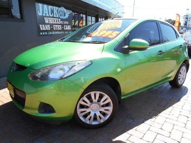 2008 Mazda 2 DE Maxx Spirited Green 4 Speed Automatic Hatchback ...