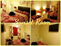 DOUBLE OR TWIN ROOM - DAILY / WEEKLY / MONTHLY LET - NO MINIMUM STAY - FREE WI FI