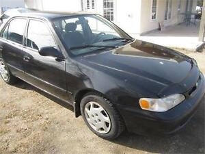 2000 Toyota CorollaAUTOMATIC ONLY 208K