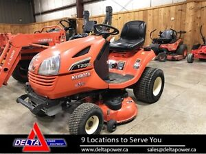 2015 KUBOTA T2080A2-42 LAWN TRACTOR