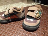 Adidas Disney Tow Mater Cars 2 Baby Boys Trainer