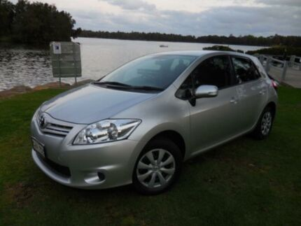 2012 Toyota Corolla Ascent Seca Silver Automatic Hatchback Lansvale Liverpool Area Preview