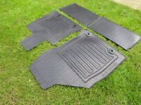 Lexus CT200 rubber mat set and rubber boot liner