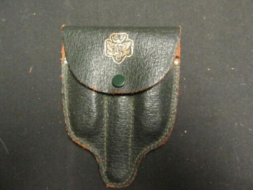 Girl Scout Leather Utensil Kit, 3 Section Kit with Utensils, Older    TH1