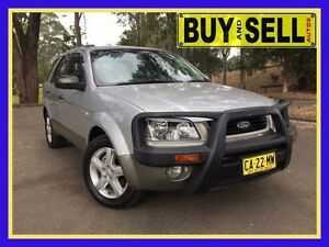 2005 Ford Territory SX TX (4x4) Silver 4 Speed Automatic Wagon Lansvale Liverpool Area Preview