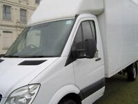 MAN WITH A VAN, LARGE LUTON BOX VAN, YOUR LOCAL MAN AND A VAN HIRE SERVICE