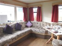 Cheap static caravan for sale 12 month park in Morecambe 5 star facilities North west site fees inc
