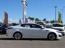 2011 Kia Optima TF MY12 SI White 6 Speed Sports Automatic Sedan Garbutt Townsville City Preview