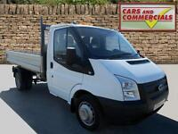 2014 FORD TRANSIT TIPPER 350 MWB 1 Way 1 Stop 100ps