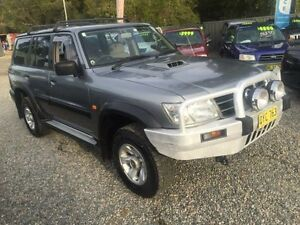 2003 Nissan Patrol GU III ST (4x4) Silver 5 Speed Manual Wagon Jewells Lake Macquarie Area Preview