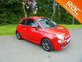 2014 14 Fiat 500 1.2 ( 69bhp ) S Only 19.805 Miles F.S.H