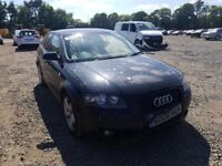 BREAKING FOR PARTS AUDI A3 1.4TSI IN BLACK 2008