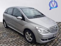 MERCEDES-BENZ B CLASS B180 CDI SE 5dr Tip Auto (silver) 2007
