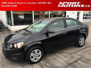2014 Chevrolet Sonic LT New Tires & Brakes! Camera! Remote Start