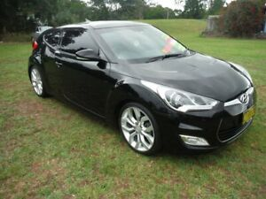 2013 Hyundai Veloster FS MY13 + Black 6 Speed Auto Dual Clutch Coupe East Lismore Lismore Area Preview