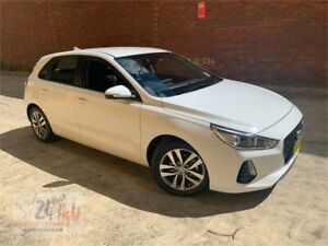 2019 Hyundai i30 PD2 MY19 Active White 6 Speed Sports Automatic Hatchback Campbelltown Campbelltown Area Preview