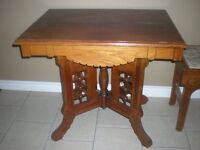 Solid Wooden Small Antique Occaisional Table