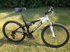 Nakamura Alloy full-suspension 21 speed Mtn Bike
