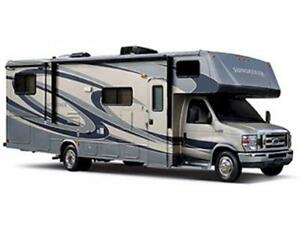 Rent a 31 Class C Motor Home with Slide Outs!