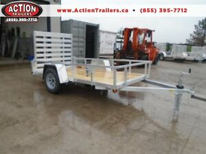 Low priced aluminum trailers - 2017 Qaulity 5 x 10 utility trail London Ontario image 1
