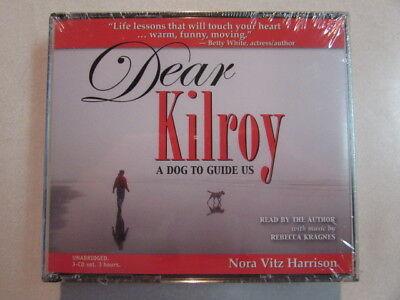 Dear Kilroy A Dog To Guide Us 3Cd Set Nora Vitz Harrison Comedy Spoken Word New