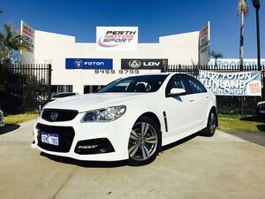 2013 Holden Commodore VF SV6 White 6 Speed Automatic Sedan Beckenham Gosnells Area Preview