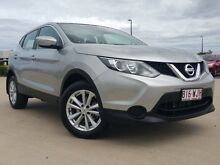 2014 Nissan Qashqai J11 ST Silver 1 Speed Constant Variable Wagon Garbutt Townsville City Preview