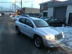 2009 JEEP COMPASS  automatic- AWD- FULL EQUIPER-     2995$